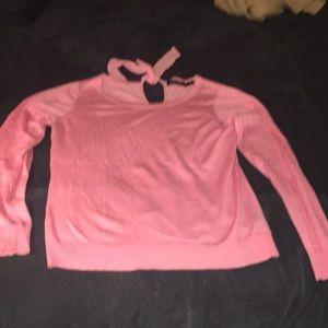 Pink Lauren sweater L